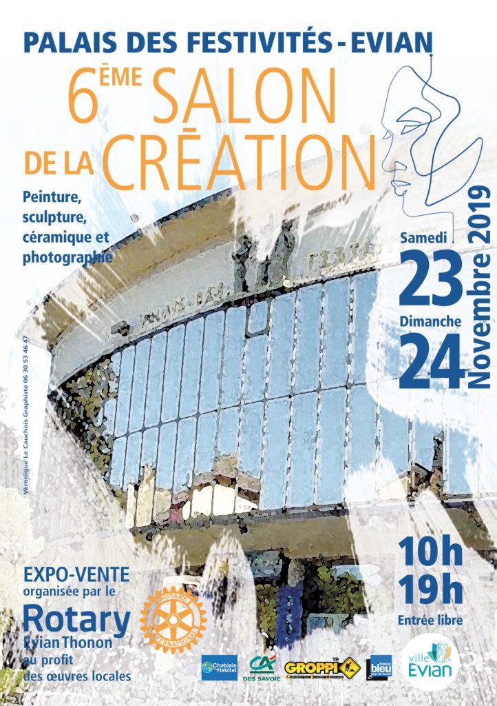 6ème Salon de la Création   Evian (74) – Palais des festivités